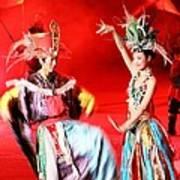 Chinese Opera Art Print