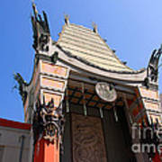 Chinese Theatre In Hollywood Art Print
