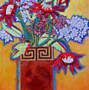 Chinese Vase Art Print by Diane Fine