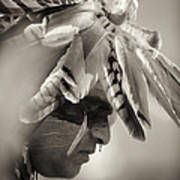 Chippewa Indian Dancer Art Print by Dick Wood