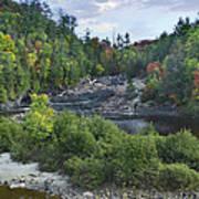 Chippewa River Ontario Canada Art Print