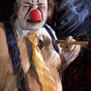 Chippy The Clown Art Print