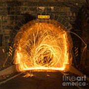 Choas Tunnel Art Print