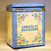 Chocolat En Poudre Art Print
