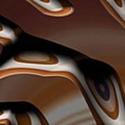 Chocolate Bark Art Print