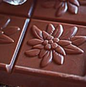 Chocolate Flower  Art Print