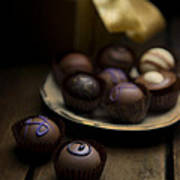 Chocolate Pralines Art Print