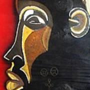 Chokwe Mask Art Print