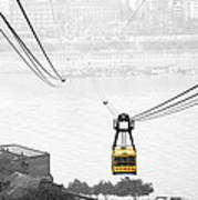 Chongqing Cable Car Art Print