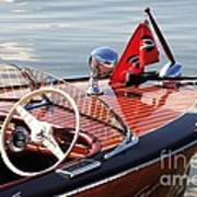 Chris Craft Deluxe Runabout Art Print