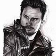 Chris Pratt 2 Art Print