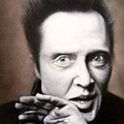 Chris Walken Art Print