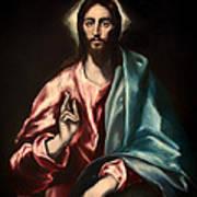 Christ As Savior Art Print