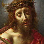 Christ As The Man Of Sorrows Art Print by Carlo Dolci