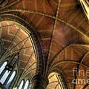 Christ Church Cathedral Roof Detail Art Print