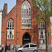 Christ Church Of England In Amsterdam Art Print