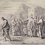 Christ Gives Advice To A Rich Young Man, Jan Luyken Art Print