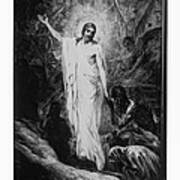 Christ Preaching To The Spirits In Prison C. 1910 Art Print
