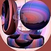 Christalline Energies Art Print