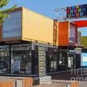 Christchurch Restart Containers Art Print
