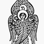 Christianity Tetramorph Art Print