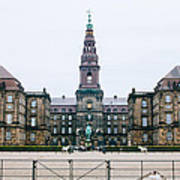 Christiansborg Slot Art Print