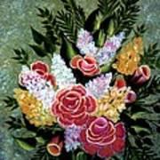Christina's Bouquet Art Print