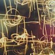 Christmas Abstract V Art Print