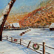 Christmas At The Cuttalossa Art Print