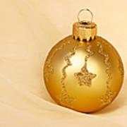 Christmas Ball Ornament Art Print