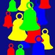 Christmas Bells Toll as a wish for you to have a Merry Christmas Art Print