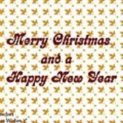 Christmas Cards And Artwork Christmas Wishes 1 Art Print