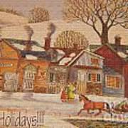 Christmas Eight Art Print