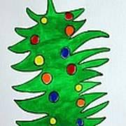 Christmas Fir-tree Art Print
