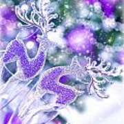 Christmas Greeting Card Art Print
