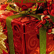 Christmas Greeting Art Print