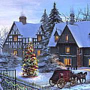 Christmas Homecoming Art Print