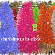 Christmas In Dixie Art Print