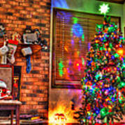Christmas In Hdr Art Print