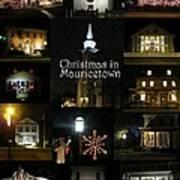 Christmas In Mauricetown  Art Print