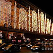Christmas In Paris - Gallery Lights Art Print