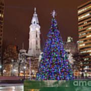 Christmas In Philadelphia Art Print