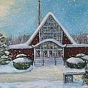 Christmas Morning At Our Lady's Church Art Print