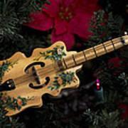 Christmas Music Art Print