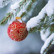 Christmas Ornament Art Print by Diane Diederich