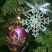 Christmas Ornaments 2 Art Print