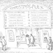 Christmas-plex Art Print