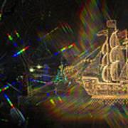 Christmas Ship Art Print