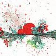 Christmas Theme 2 Art Print