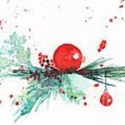Christmas Theme 3 Art Print